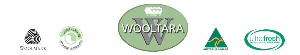 Wooltara - Australian Made, Woolmark, Ultra Fresh Antibacterial Protection